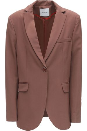 LESYANEBO Cool Wool Single Breasted Jacket