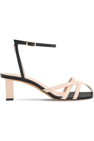 Gray Matters 50mm Mia Leather Sandals