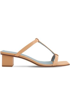 Gray Matters 40mm Giulia Leather Sandals