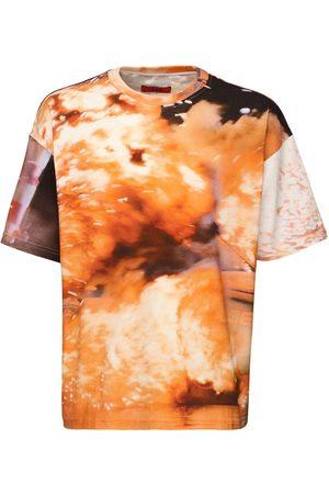 424 FAIRFAX Explosion Cotton Jersey T-shirt