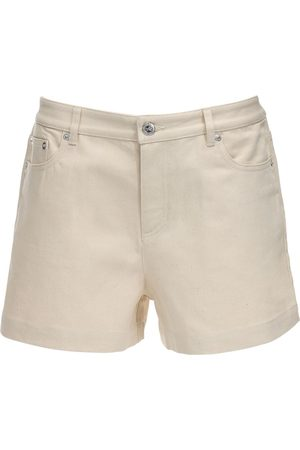 A.P.C Cotton Denim Shorts