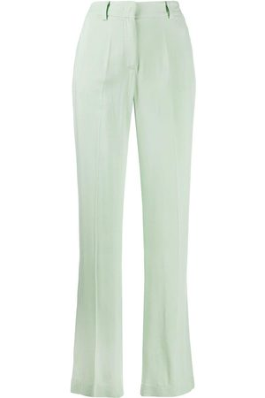 HEBE STUDIO Mid-rise straight leg trousers