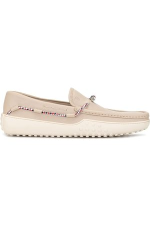 Tod's Men Loafers - Leather loafers - Neutrals