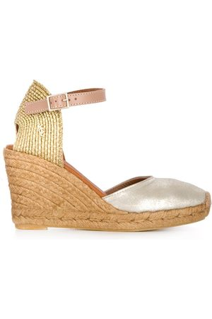 Kurt Geiger Monty high wedge heel espadrilles