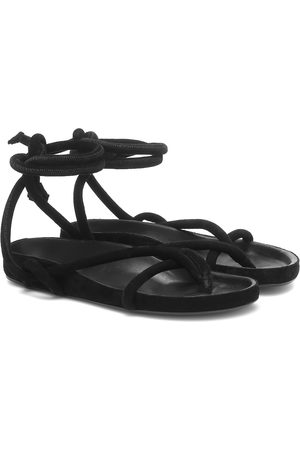Isabel Marant Women Sandals - Lastro suede sandals