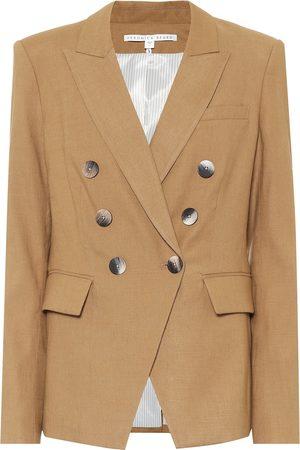 VERONICA BEARD Lonny Dickey linen-blend blazer
