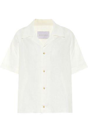 ASCENO Prague linen shirt