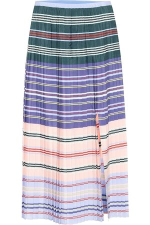 Altuzarra Halyard striped knit midi skirt