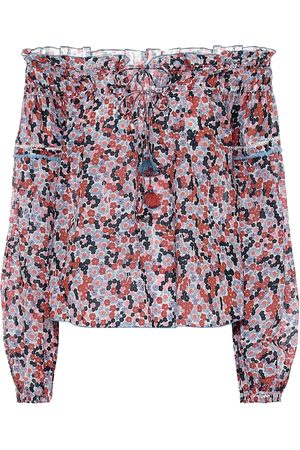 POUPETTE ST BARTH Exclusive to Mytheresa – Clara floral cotton blouse