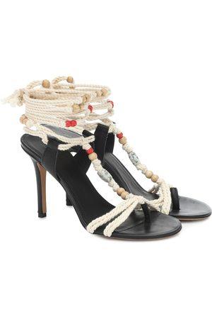 Isabel Marant Ampoi embellished leather sandals