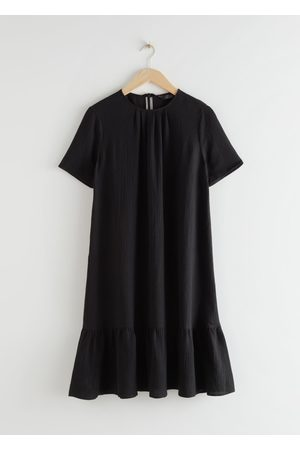 & OTHER STORIES A-Line Ruffled Mini Dress