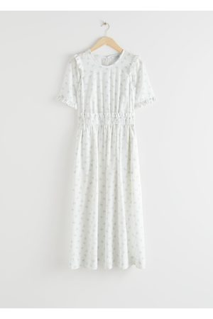 & OTHER STORIES Lyocell Blend Ruffle Maxi Dress