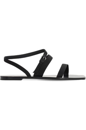 The Row 10mm Satin Sandals