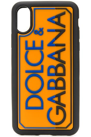 Dolce & Gabbana Logo-embossed iPhone X/XS case