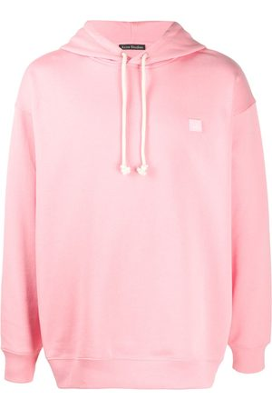 Acne Studios Face-patch oversized hoodie