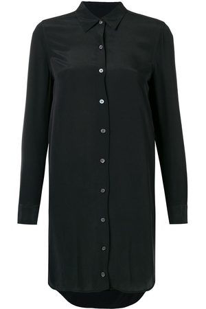Equipment Long-sleeve fitted shirt dress