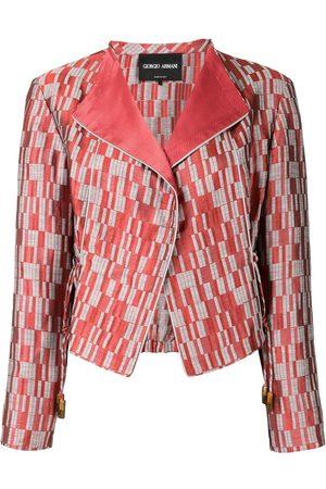 Armani Graphic print jacket