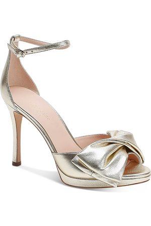 Kate Spade Women's Bridal Bow High-Heel Sandals