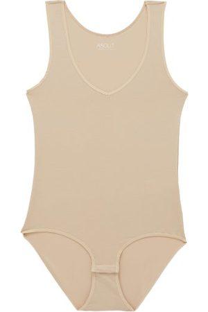 About Women Bodies - V-neck Modal-blend Bodysuit - Womens