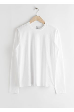& OTHER STORIES Organic Cotton Long Sleeve T-Shirt
