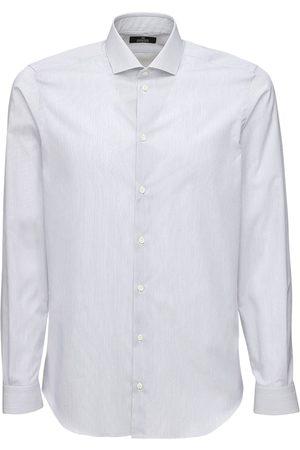 ALESSANDRO GHERARDI 1000 Righe Cotton Shirt