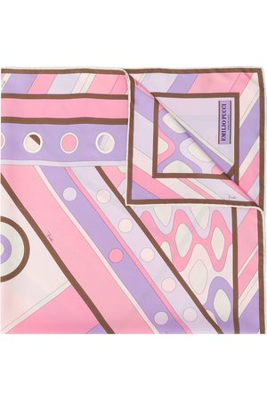 Emilio Pucci Women Scarves - Abstract print scarf
