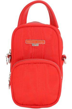 Marine Serre Logo Mini Viscose Backpack