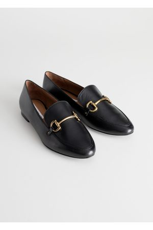 & OTHER STORIES Equestrian Buckle Loafers