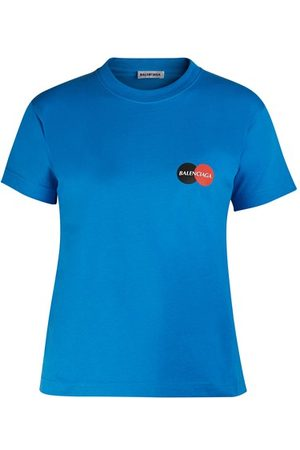 Balenciaga Fitted print t-shirt