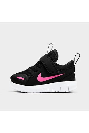 Nike Girls' Toddler Flex Contact 4 Hook-and-Loop Running Shoes in Size 5.0