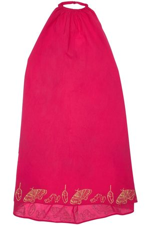 INFANTIUM VICTORIA Butterfly Print Organic Cotton Dress