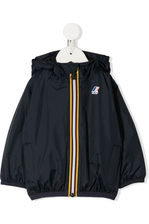 K-Way Hooded logo jacket