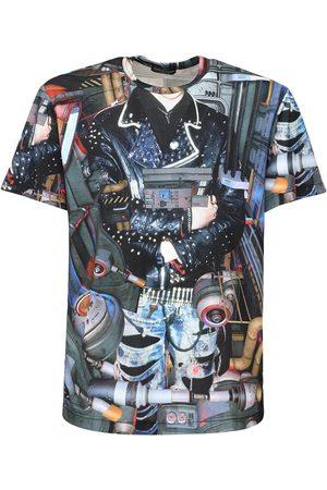 Comme des Garçons Inkjet Print Jersey T-shirt