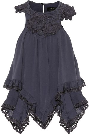 Isabel Marant Lupita appliquéd crêpe blouse