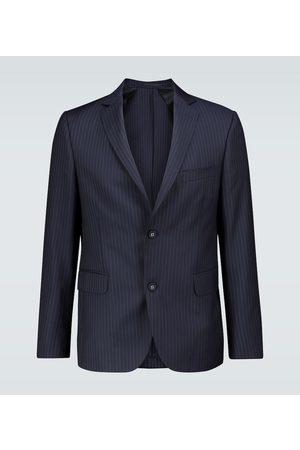 OFFICINE GENERALE Pinstriped wool blazer