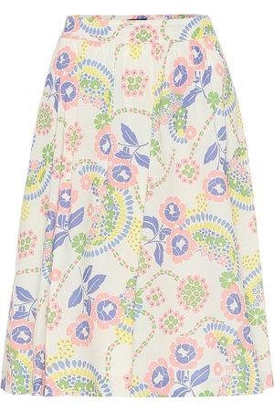 A.P.C Ravenna floral cotton skirt