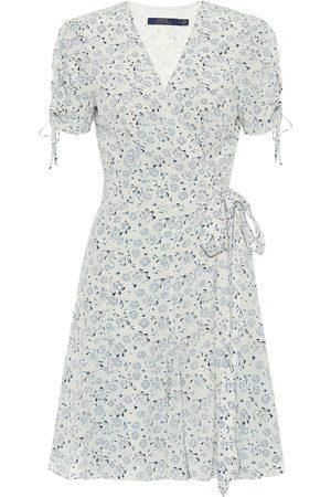 Polo Ralph Lauren Floral crêpe wrap dress