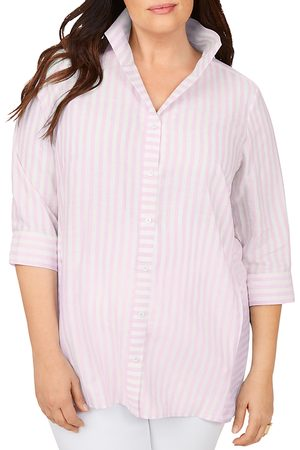 Foxcroft Women Tunics - Soraya Simple Striped Tunic