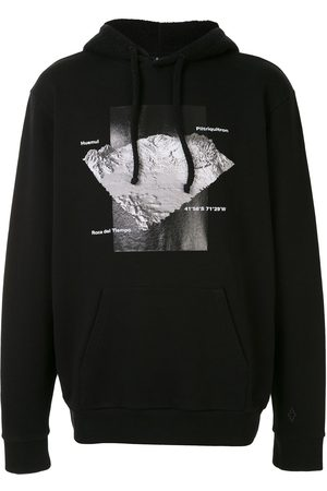 MARCELO BURLON Graphic print hoodie