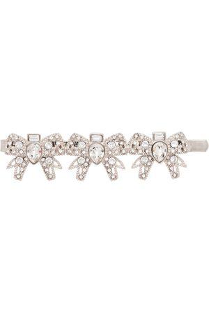 Miu Miu Hair clip with crystals - Metallic