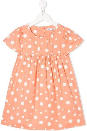 KNOT Girls Dresses - Dotted cotton dress