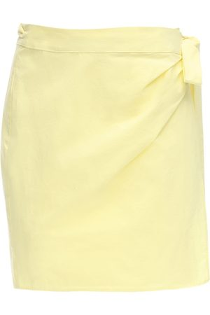 Ciao Lucia Women Mini Skirts - Ponza Cotton Poplin Mini Skirt