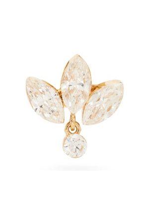 Maria Tash Lotus Diamond & 18kt Single Earring - Womens