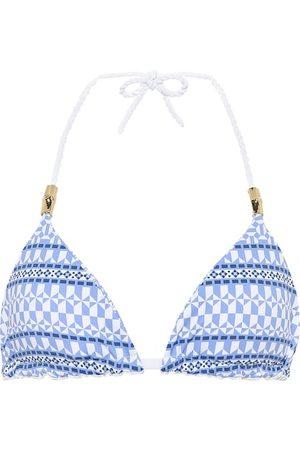 Heidi Klein Malta reversible triangle bikini top