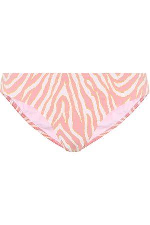 Heidi Klein Cape Town zebra-print bikini bottoms