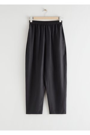 & OTHER STORIES Relaxed Silk Trousers