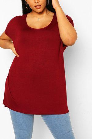 Boohoo Womens Plus Oversized T-Shirt - - 12