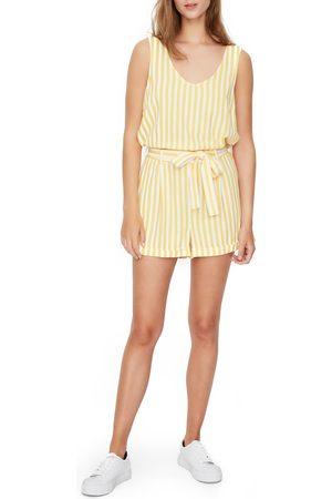 Vero Moda Women's Helen Milo Stripe Romper