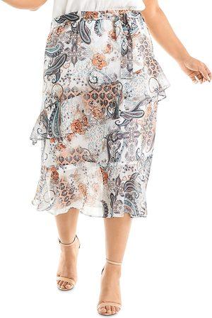 Estelle Women Printed Skirts - Living Printed Midi Skirt