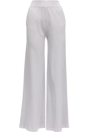AYA MUSE Elettra Ribbed Stretch Viscose Pants